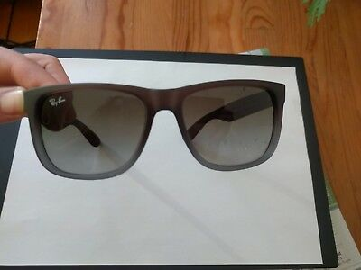 Ray-Ban Justin black rubber Sonnenbrille