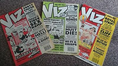 Viz Comic - Issue 58 Issue 59 & Issue 60 (1993) - Not For Sale To Children!