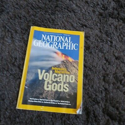 NATIONAL GEOGRAPHIC MAGAZINE january 2008 VOLCANO GODS RING OF FIRE