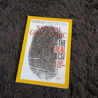 National Geographic Magazine July 2016 Great White Sharks-The Real Csi