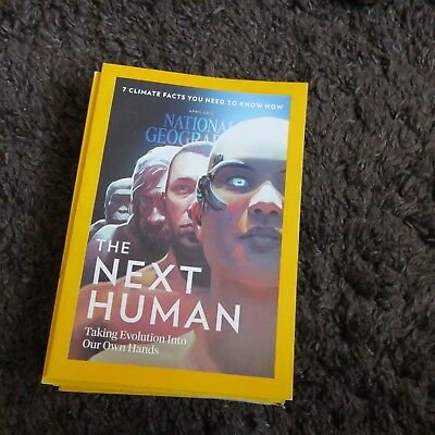 National Geographic Magazine April 2017 The Next Humans