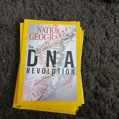 National Geographic Magazine August 2016 Dna Reolution
