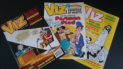 Viz Comic - Issue 79 Issue 80 & Issue 81 (1996-1997) - Not For Sale To Children!