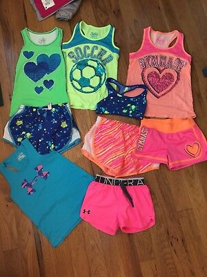 Justice Girls Active Sports Lot Size 8 10
