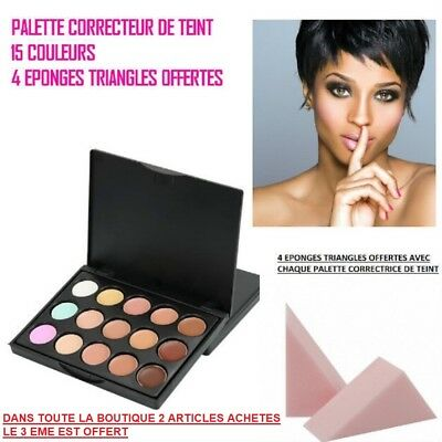 Palette Correcteur De Teint Anti Cerne Concealer Contouring Make Up Mac110