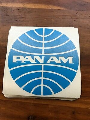 Pan Am Airlines Vinyl Decal