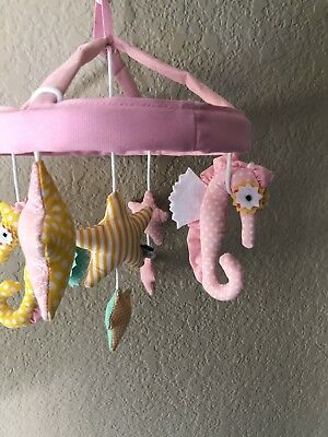 Pottery Barn Seahorse/Starfish Mobile With Arm