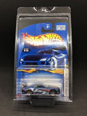 Hot Wheels 2002 Nissan Skyline GT-R R32 Blue JDM Import Super Rare Wheel Variant