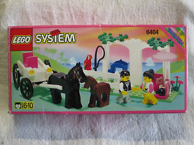 LEGO 6404 Paradisa Carriage Ride nur OVP / box only