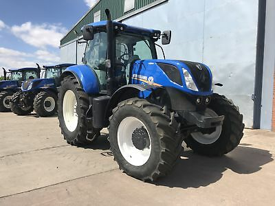 HI-Spec 2017 New Holland T7.245 Auto Command 50kph 1280 Hrs