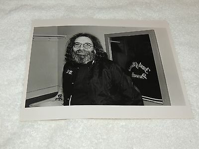 Jerry Garcia - 8 x 10 Original Photo Print - Backstage Picture - Cool and Rare!