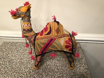 Camel Embroidered Folk Art Made In India