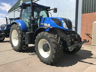 2017 New Holland T7.245 Power Command 50kph Only 1300 Hrs Front Linkage & PTO