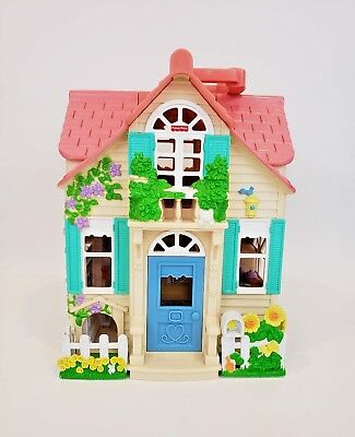 Fisher Price Loving Family Sweet Streets Country House Dollhouse Mattel 2000