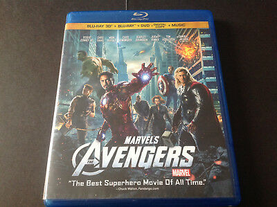 Marvels - The Avengers  ( Blu Ray 3D + Blu Ray  )