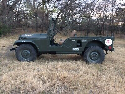 1955 Jeep M170 Excellent Condition With All Parts To Finish Restoration