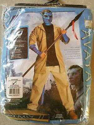 J NEW Adult Rubies Avatar Jake Sully Halloween Costume Size One Size