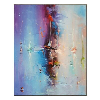 Abstract Modern Hand-Painting Fashion Oil Painting Home Decor Canvas Art Wall
