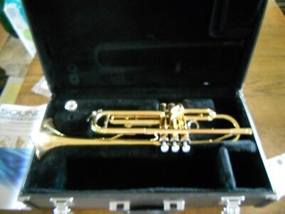 Yamaha Brass Trumpet with case - YTR-2335