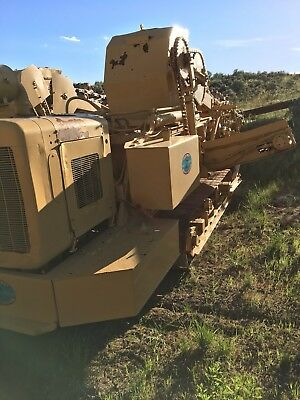 Two Parsons 155 Ladder Pipeline Trenchers  No Reserve