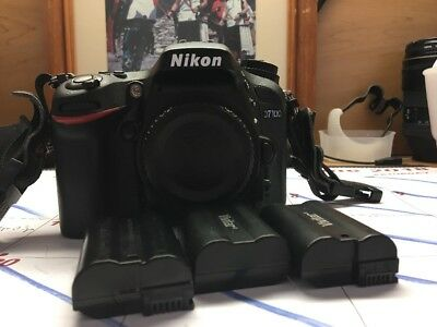 Nikon D7100 Body Only Used With Extras, Free Gift