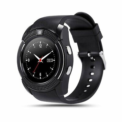 Children Kids Bluetooth Round Smart Watch Phone Nano SIM TF Card For Android ios