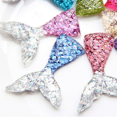Sequin Fishtail Resin Jewelry Accessorie Birthday Cake Decor Phone Case Material