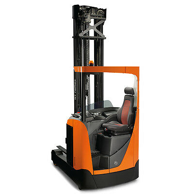 BT Reflex RRE140 1,4 Ton Reach Trucks Pallet Truck Electric Forklift Stapler