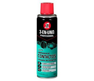 Limpiador de contactos electricos spray de 250ml 3EN1