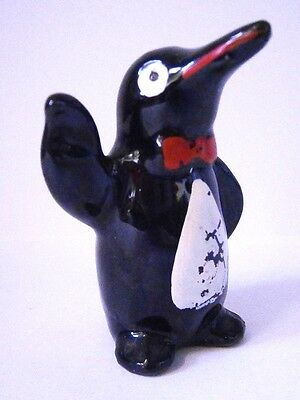 Kitsch Vintage Japanese China Orphaned Penguin Pepper Shaker