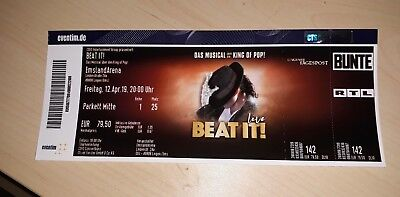 Das  Musical King Of Pop  Beat It! Live In Emsland Arena April 2019