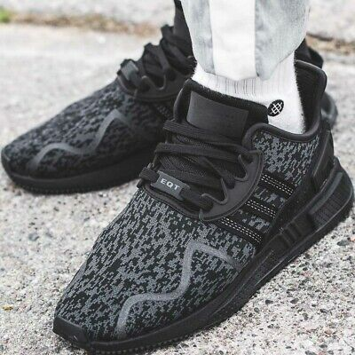 reputable site 1afe5 3ded1 ADIDAS EQT CUSHION ADV sneaker chaussures hommes sport loisir basket noir  BY9507