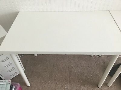 IKEA -  Adils Linmon Table / Office Desk (White)