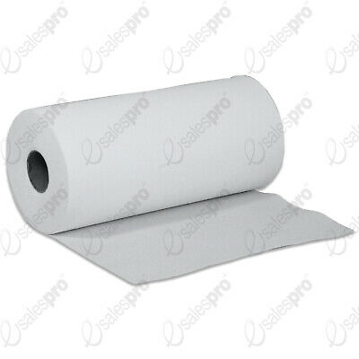 White 2ply Desk Roll 24cm Wide 50m Long with Bulk Buy Discount Deals