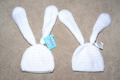 NWT Little Wishes LOT of 2 Bunny hat with ears. 6/12 months
