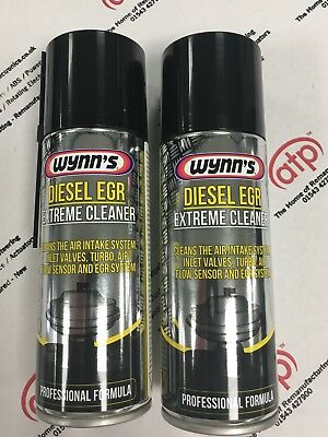 Wynns Egr Extreme Cleaner 23379 Twin Pack Air Intake, Inlet Valves, Turbo's