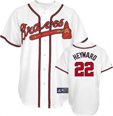 timeless design 85b6a 5f98b NEW - JASON Heyward - Atlanta Braves jersey - Majestic youth Large 14/16