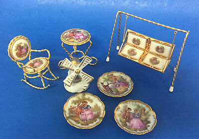 Collection Of Limoges Porcelain Miniatures