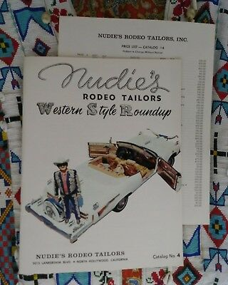 NOS Nudie's Rodeo Tailors catalog #4 w/ Price List Mint Condition 38 pages suits