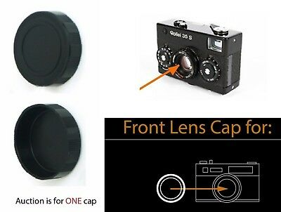 Push-On Camera Lens cap for Rollei 35 S 35S Sonnar 40/2.8 40mm f/2.8 HFT