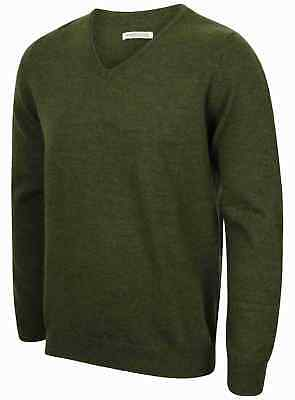 468b89196b70d Homme 100% Laine Merino Pull Nouveau Ex Magasin Taille XS-XXL Pull Tricot