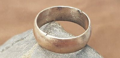 Superb Viking hoard item bronze band finger ring. Please read description. L5x