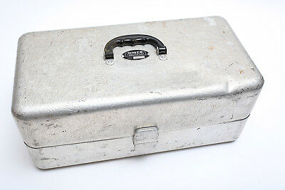 Vintage UMCO Fishing Tackle Box Model 203 Large