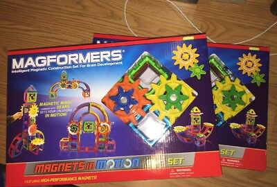 Magformers 63205 Magnets in Motion Set 61-pieces