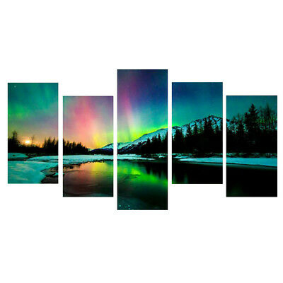 5pcs/set Modern Art Oil Painting Print Canvas Picture Home Wall Room Decoration