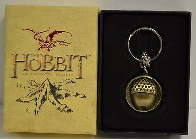 Lord of the Rings LOTR The Hobbit Bilbo Baggins Acorn Bronze Keychain D149