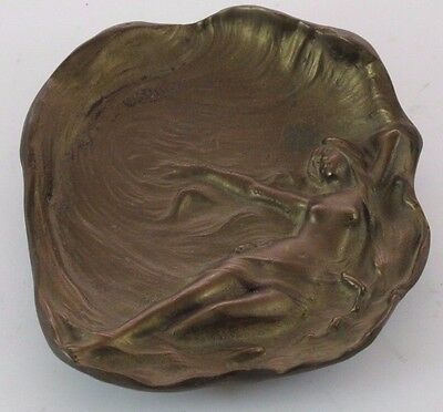 Beautiful Nude Lady Bronze Dish or Tray  JZ-0771