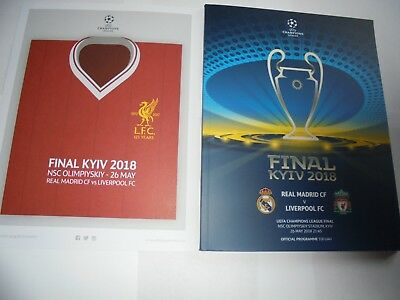 2018 UEFA CHAMPIONS LEAGUE FINAL - LIVERPOOL v REAL MADRID (26th May 2018)