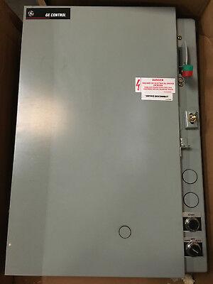 GE CR34C044BAB1AA NEMA SIZE 1, 460/480 LINE VOLTS 60Hz 3HP TYPE 3R ENCLOSURE