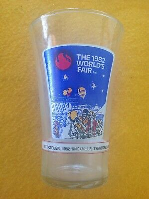 Mcdonalds & Coca Cola 1982 Worlds Fair-Knoxville, Tn Drinking Glass